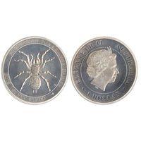 1 доллар 2015 воронковый паук