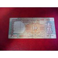 10 рупий 1992 Индия