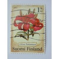 Финляндия 2007г. Флора.