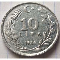 Турция 10 лир, 1986        ( 5-9-4 )