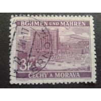 Рейх протекторат 1939 г. Злин