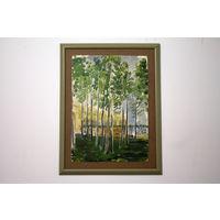 Картина Михеева В.Н. 40х30см масло на картоне / C РУБЛЯ