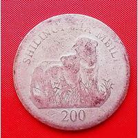 50-13 Танзания, 200 шиллингов 1998 г.