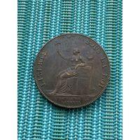 Франция 2 соля (су) 1791 г.