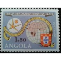 Ангола, колония Португалии 1958 выставка в Брюсселе полная серия