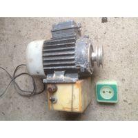 Электродвигатель с выключателем