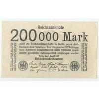 Германия, 200 000 марок 1923 год.