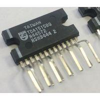 TDA1515BQ. Philips. УHЧ 2x12W, 24W BTL (14.4V/4 Ом) TDA1515B TDA1515