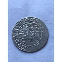 Полугрош 1518 г.  - с 1 рубля.