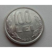 100 лей Румыния 1992 г.в. KM# 111, 100 LEI, из коллекции