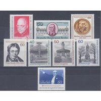 [1029] Германия.Зап.Берлин. 8 чистых  марок.(2)