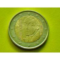 Финляндия, 2 евро 2012, биметалл, 150 лет со дня рождения Хелены Шерфбек