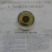 """YS: Рим, императорская бронза, IV век, серия """"Монеты тысячелетия"""""""