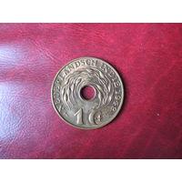 1 цент 1942 (P) год Нидерландская (Голландская) Индия (СОСТОЯНИЕ!!!)