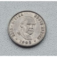 ЮАР 5 центов, 1982 Окончание президентства Бальтазара Йоханнеса Форстера 3-14-13