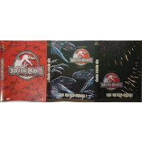 Парк Юрского Периода 1,2,3  2xDVD9+DVD5