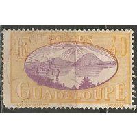 Гваделупа. Рейд на острове Сен. Пейзаж. 1928г. Mi#106.