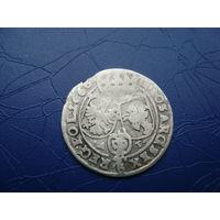 6 грошей (шостак) 1666 (2)         (2840)