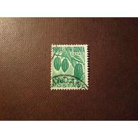 Папуа Новая-Гвинея 1960 г. Какао.