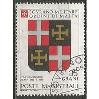 Мальтийский Орден. Гербы Великих Магистров. 1979г. #171.