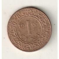 Суринам 1 цент 1966