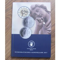 Каталог с новыми европейскимм монетами с тиражами разные страны.