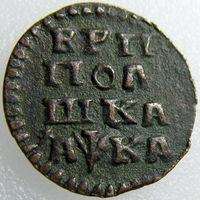 Две полушки Петра I 1720 (VF) и 1721 (XF), лот не разбивается