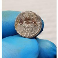 Монета серебро Литва 1609 С 1 Рубля без МЦ