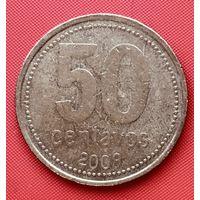 18-16 Аргентина, 50 сентаво 2009 г.