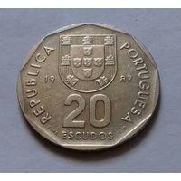 20 эскудо, Португалия 1987 г.