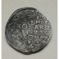 З гроша (Трояк) 1597 г Познань .