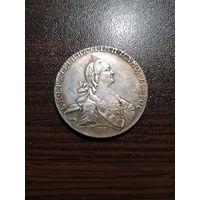 1 рубль Екатерина 2 1774г. копия