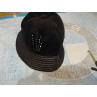 Шапка шляпка для дачи