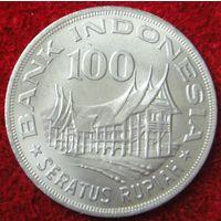 5052:  100 рупий 1978 Индонезия