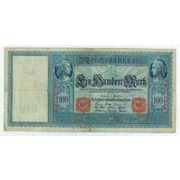 Германия, 100 марок 1910 год. - А -