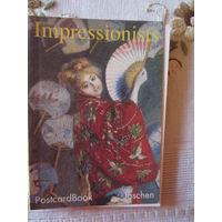 Буклет с открытками картин импрессионистов