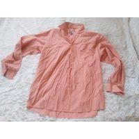 Рубашка стильно оранжевая р.50-52