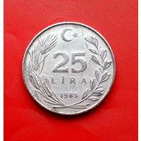 90-30 Турция, 25 лир 1985 г.