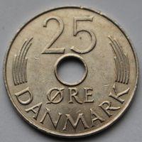 Дания, 25 эре 1987 г