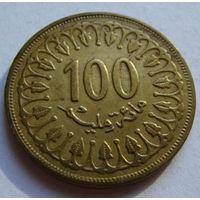 Тунис 100 миллимов 1997 г