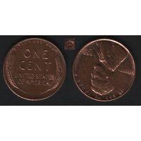 США km132A 1 цент 1953 год (D) (b06)