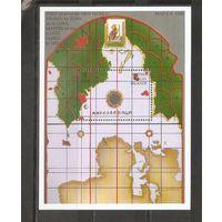 Виргинские Острова 1992 Карта