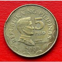 32-12 Филиппины, 5 песо 2009 г.