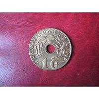 1 цент 1945 (P) год Нидерландская (Голландская) Индия (СОСТОЯНИЕ!!!)