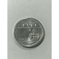 5 центов, 2006 г., Аруба
