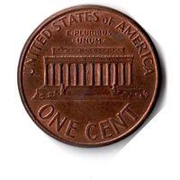 США. 1 цент. 2002 г.
