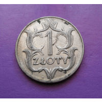 1 злотый 1929 Польша #04