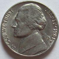 США. 5 центов 1981 D
