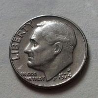 10 центов (дайм) США 1974 D