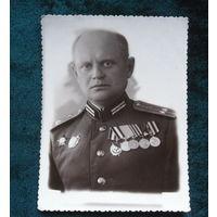 Подполковник артиллерии с орденом Невского.